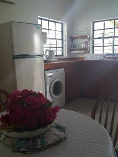 kitchen with Laundry access