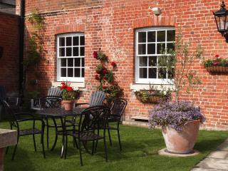 The garden at West View House is a real sun trap.