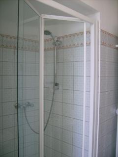 Second washroom, shower stall