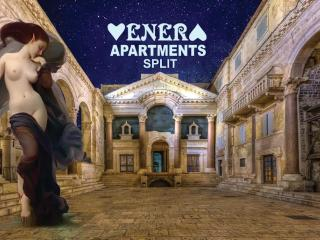 Stay in the Heart of Split Apartment Venus of the Palace is located in Split, in the heart of the UN