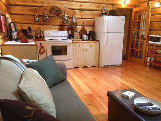 Log cabin, luxurious, private, quiet,dog friendly, Roberts Creek
