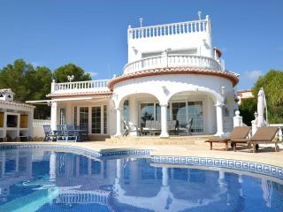 Villa with a sea view for 8 persons, Calpe