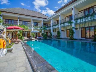 Green Rice Field View Uma Sri Hotel Bali