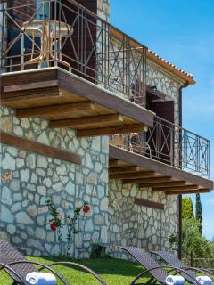 Stone House, Balconies