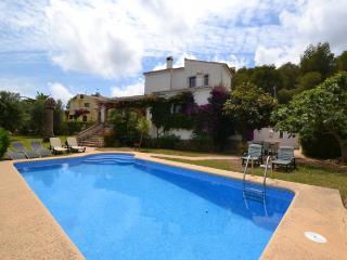 Casa Flor 4 bed villa walking to   beach, Javea