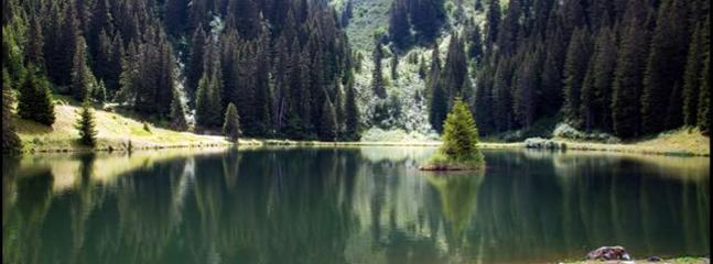 Lac Mouille at Super Chatel