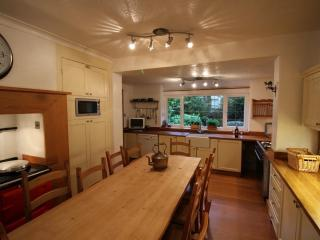 Kitchen with range cooker, AGA and all appliances