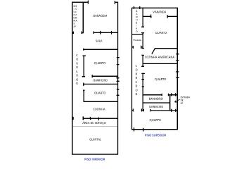 Casa para temporada com 5 quartos, Itacare