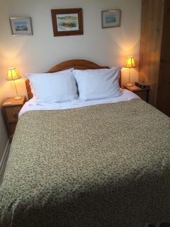 Double bedroom with memory foam mattress
