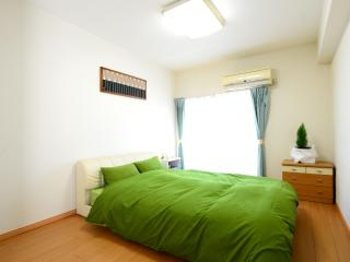 Big & Bright 2BR, 5 min from Shinjuku Station. 2F