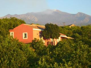 Casa Camelia:Etna,peace,lemon trees,lovely beaches, Santa Venerina