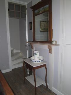 a feature in the second double bedroom