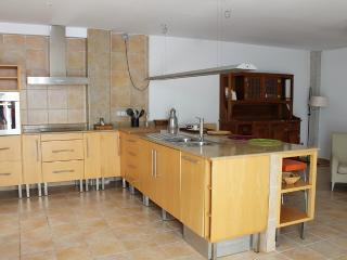 Detalle de la amplia i cómoda cocina.