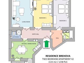 Jewish Town - Executive 2bdr | Brehova Residence, Praga