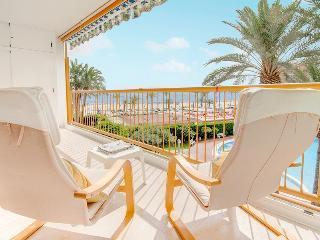 Apartamento Niza: frente playa, piscina, tenis, Alicante