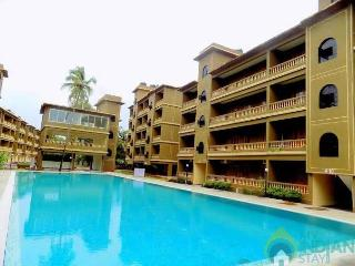 1BHK flat with pool, centrally located to CalanguteBaga and Arambhol Morjem, Siolim