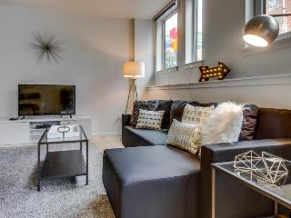 Dog-friendly condo with a shared roof deck, walk to the Space Needle!, Seattle