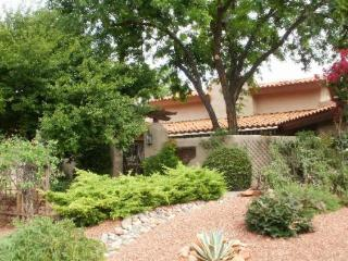 Spanish Style Ranch Home sits on a 1/2 acre in the Red Rock Cove Subdivision - Redrock - S006, Village of Oak Creek