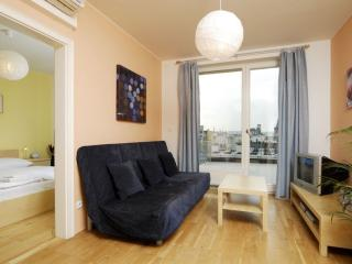 Wenceslas Square B809 apartment in Nove Mesto with WiFi, roof terrace & lift.