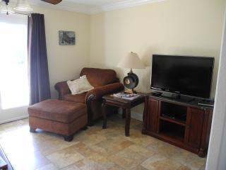 Living Room with Queen pullout, 40' smart TV, free wi-fi DVD player, lots of board games, puzzles,