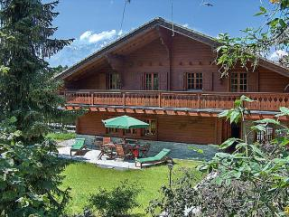 Cozy Cabin Villa with Indoor Swimming Pool - Villa Etang, Nendaz