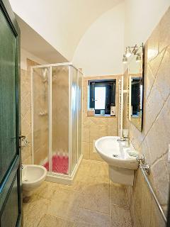 Bathroom in Trullo Simona