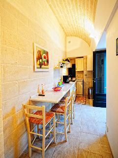 Kitchen in Trullo Simona