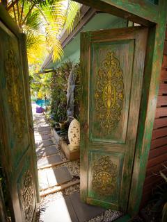 Your gateway to a secret garden