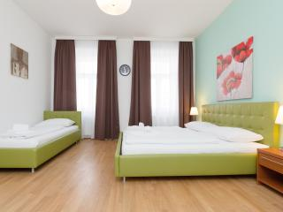 Koller Comfort Green - 3 Bed Studio Apartment, Vienna