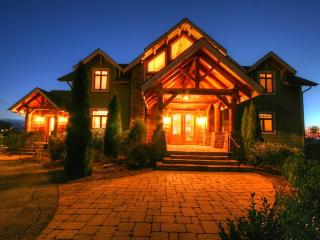 5BR Luxury Adirondack-style Mountain Home offering Panoramic Views and, Vilas