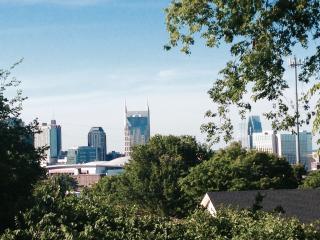 Best back porch view of the Nashville skyline!