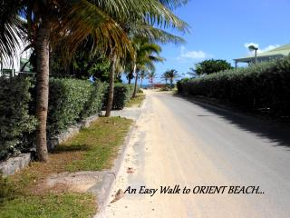 MACASSI 1...  Charming, affordable, private pool and an easy 4 min walk to Orient Beach!, Orient Bay