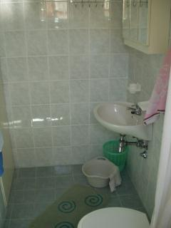 A3(2): bathroom with toilet
