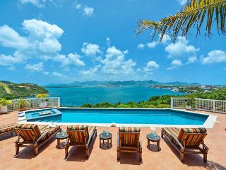 Spectacular Simpson Bay, Marigot and Ocean views from all parts of this villa. C TRG, St-Martin/St Maarten