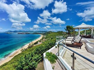 Overlook Baie Rouge and Aguilla from this villa. C TER, St. Maarten