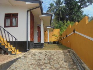 2 bedrooms. one kitchen, sitting room, verendha.
