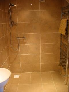 En suite wetroom to bed 3