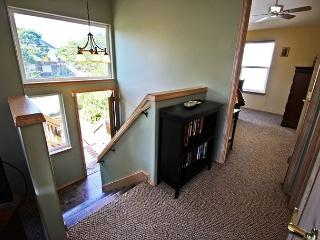 Entry stairs to upper level