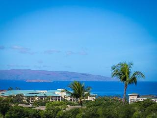 Wailea Ekolu #406 2 BD 2BA Panoramic Ocean View, Full A/C, Sleeps 4