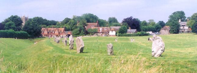 Part of the Avebury stone circle.