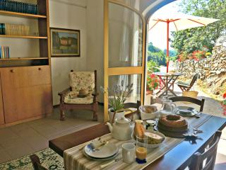 The dining area Breakfast with a view
