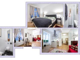 SMARTAPARTMENTS Central 1 Bed Apt. SCHOTTENRING, Viena