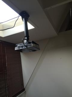 The Roof Mounted projector