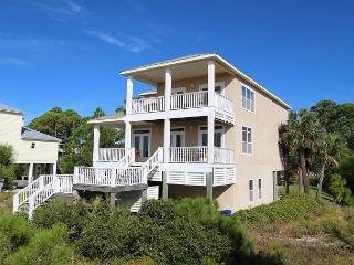 Beachfront Home, Views, 3 Masters, South Cape Location**05/21/16 $3510/wk, Cape San Blas