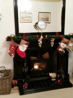 Hang your Christmas Stockings by the fire ?