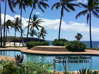 #2191 (1 of 3 Beach Front Units)  Kepuhi Beach, Maunaloa