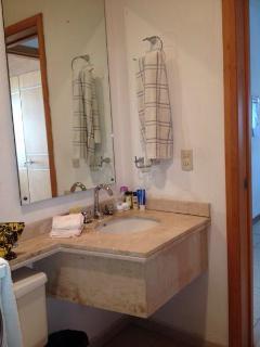 2nd bathroom has a shower