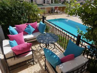 centrally located duplex apartment with pool, Kalkan