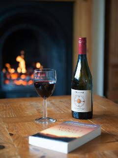 Open fire - warm and cosy
