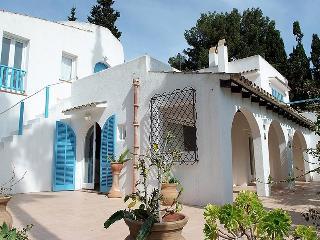 "Villa ""Ibiza style"". Own garden & swimming pool."